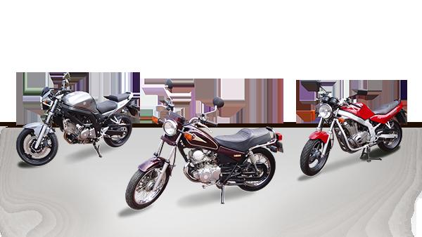 Motorräder der Fahrschule Schöne